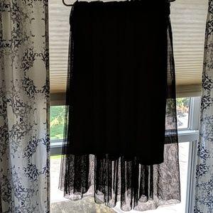 H&M Skirts - Black tulle skirt